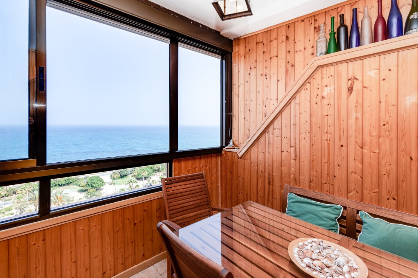 Cozy 2 bedroom apartment with unobstructed sea view for sale in Cabo Cervera